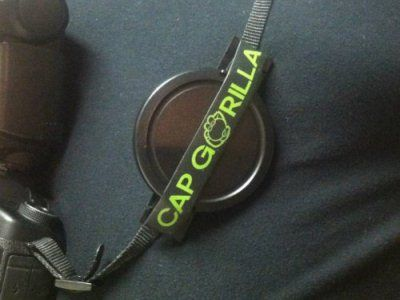 Cap Gorilla Lens Cap Holder